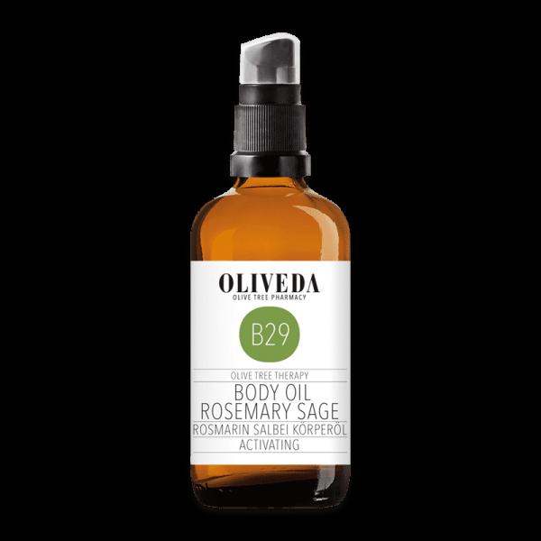 B29 Körperöl Rosmarin Salbei Activating