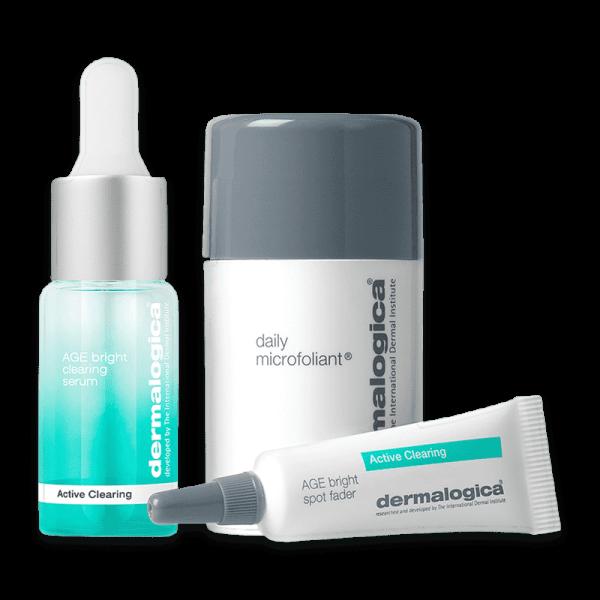 Active Clearing Skin Kit - Gesichtspflege für unreine Haut/Akne