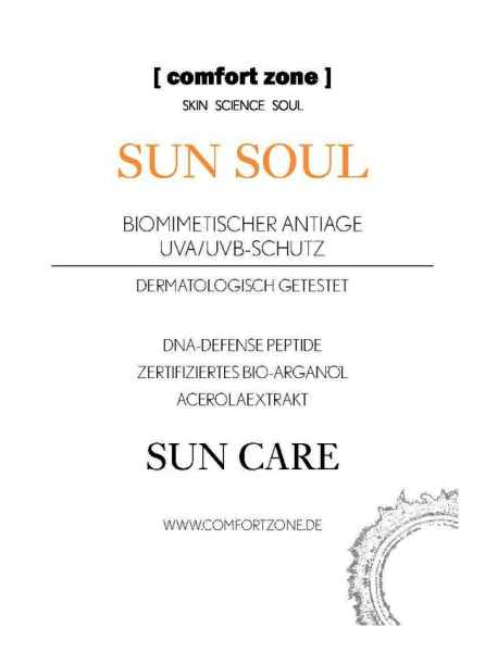 Sun Soul Face Cream Aftersun