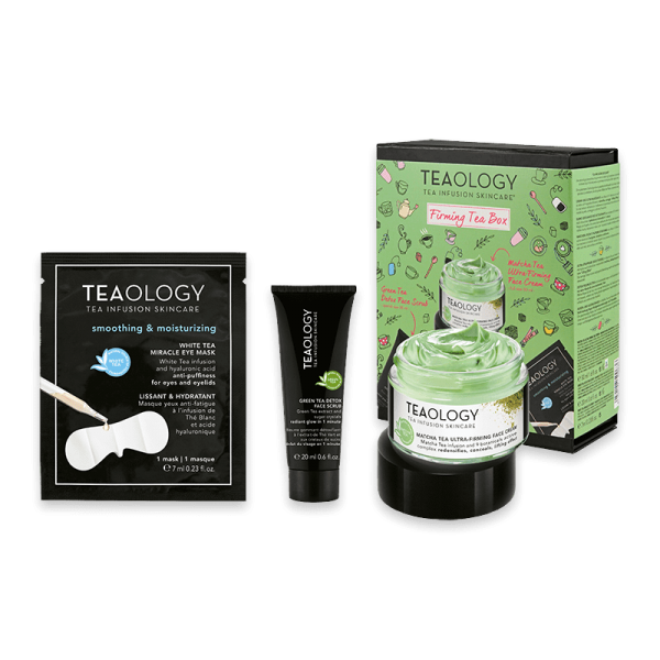 Firming Tea Box ltd. Edition - Anti Aging Gesichtspflege für reife Haut