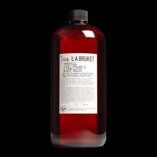 No. 094 Hand & Bodywash Sage/Rosemary/Lavender Refill - Duschgel, Seife