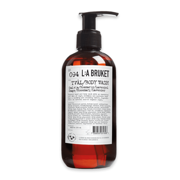 No. 094 Hand & Bodywash Sage/Rosemary/Lavender