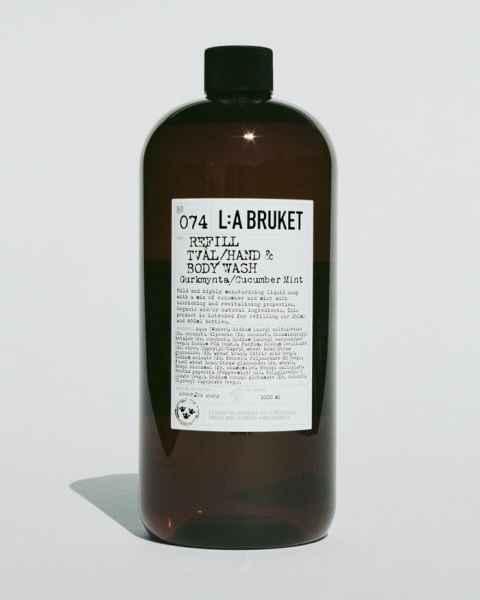 No. 074 Hand & Bodywash Cucumber/Mint Refill