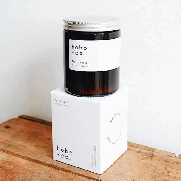 Fig + Cassis Essential Oil Candle 180ml - Duftkerze