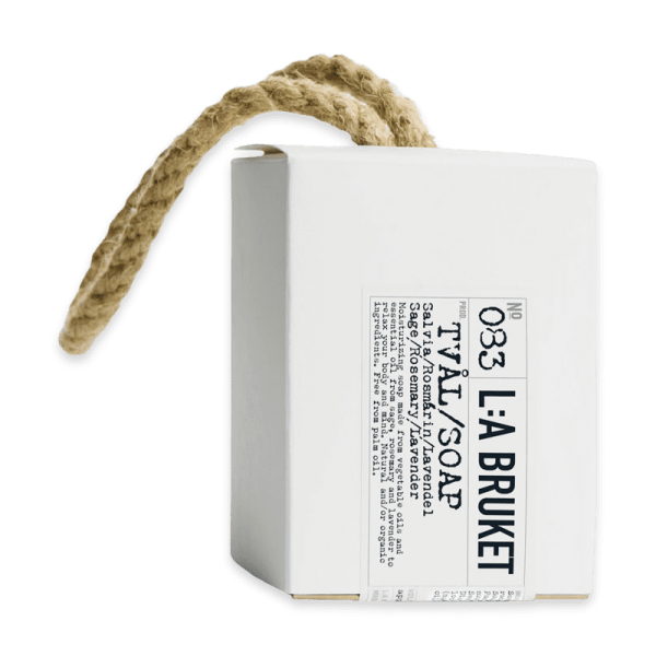 No. 083 Rope Soap Sage/Rosemary/Lavender