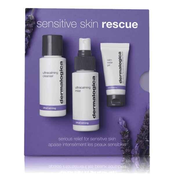 Sensitive Rescue Kit - Gesichtspflege für empfindliche Haut