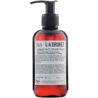 No. 218 Beard Wash Cedarwood/Rosemary/Orange