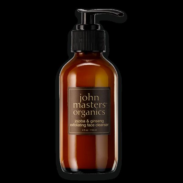 jojoba & ginseng exfoliating face cleanser