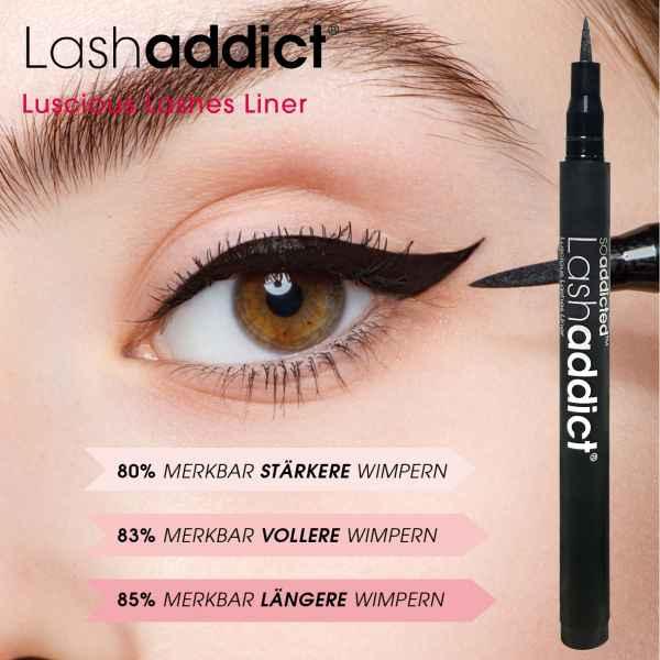 Luscious Lashes Liner - Eyeliner mit Wimpernwachstums Serum