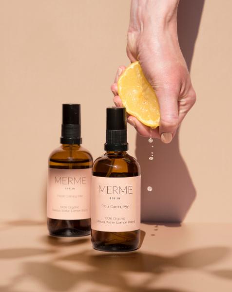 Facial Calming Mist - 100% Organic Melissa Water