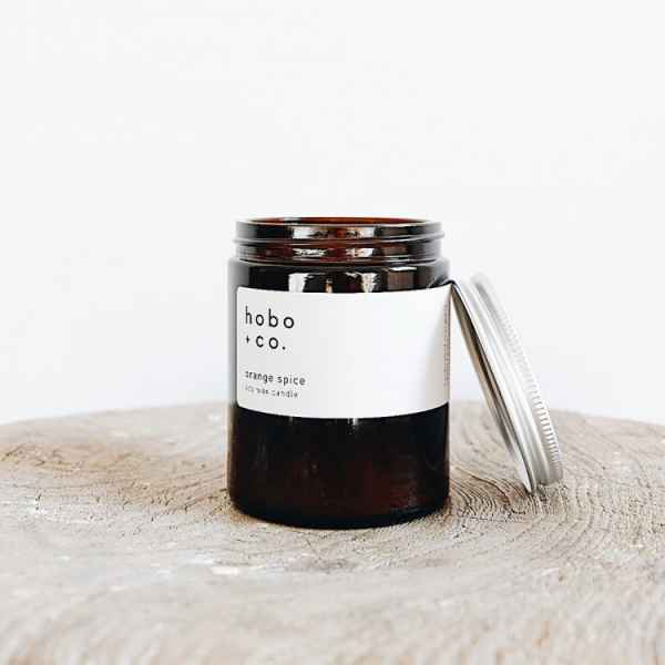 Orange Spice Essential Oil Candle 180ml